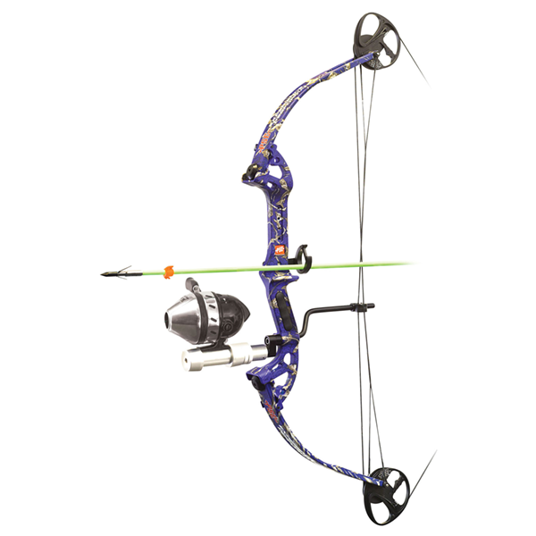Muzzy Bowfishing Line Puller for Bow Using a Spincast Reel